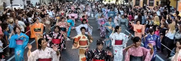 """Desfile y Festival artístico """"120 años de la Amistad  Argentino-Japonesa"""" 5º parte"""