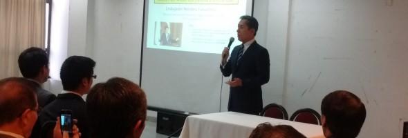 Colaboración con la Comunidad Nikkei de América Latina y el Caribe. Con la presencia del Embajador del Japón en Argentina Sr. Noriteru Fukushima-Reunión General de Presidentes organizada por F.A.N.A. 29 de julio de 2017-